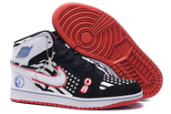 Brands-quality-guarantee-store-air-jordan-1-high-black-white-red