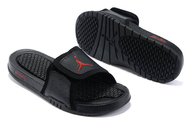 King700-quality-guarantee-store-air-jordan-2-retro-black-red-hydro-slide-sandals