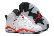 Play-on-foot-comfortable-air-jordan-6-nike-shoes-6003-01-white-varsity-red-black-cheap-sale