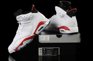 Greatnbagame-jordans-66size-quality-guarantee-sneakers-air-jordan-6-01-002-vi-original-og-white-infared-black-men-shoes