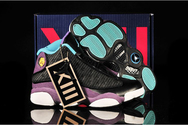 King700-quality-guarantee-store-air-jordan-13-gs-summer-black-grape-atomic-teal