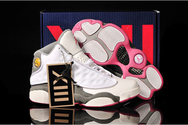 Quality-guarantee-store-air-jordan-13-gs-summer-white-spark-stealth