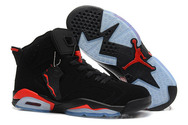 Hot-sale-womens-air-jordan-6-brand-new-8003-01-black-deep-infrared-nike-shoes