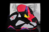 Latest-popular-shoes-air-jordan-7-05-001-kids-raptors-grey-black-red