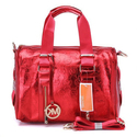 Michael-kors-logo-print-large-red-satchel-bags-148