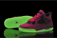 Fashion-sneaker-online-store-women-air-jordan-iv-019-002-gs-pink-foil-glow-in-the-dark