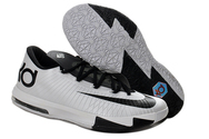 Cheap-top-shoes-mens-nike-zoom-kd-vi-020-001-low-black-white-kevin-durant-shoes