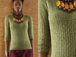 Global Fusion pattern in the S/S 2010 Vogue Knitting Magazine